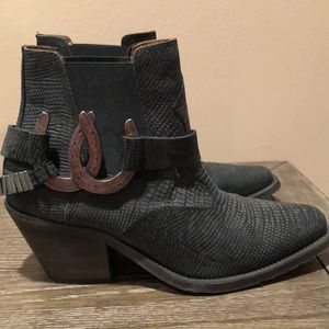 Free people X Lady Luck ankle boot size 36